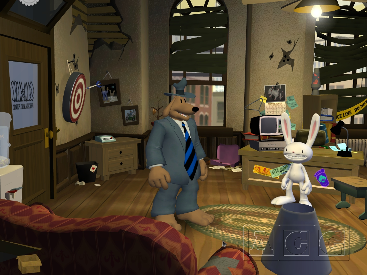 Sam & Max Save the World Episode 101: Culture Shock