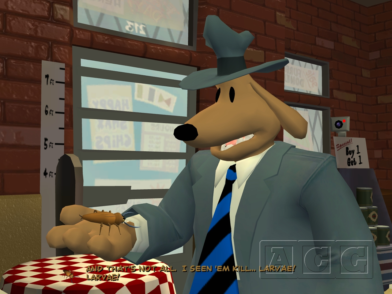 Sam & Max Save the World Episode 103: The Mole, the Mob, and the Meatball