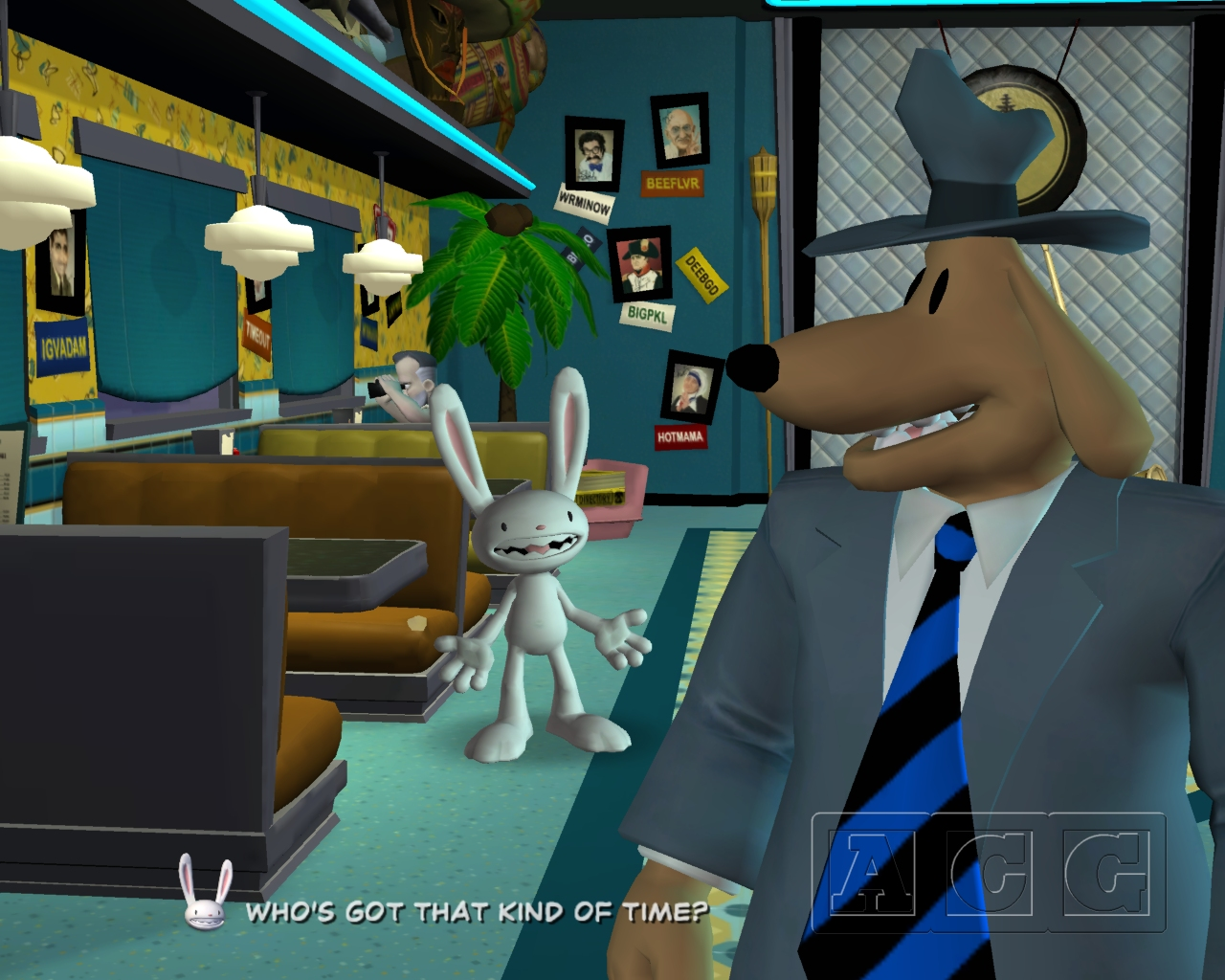Sam & Max Beyond Time & Space Episode 202: Moai Better Blues