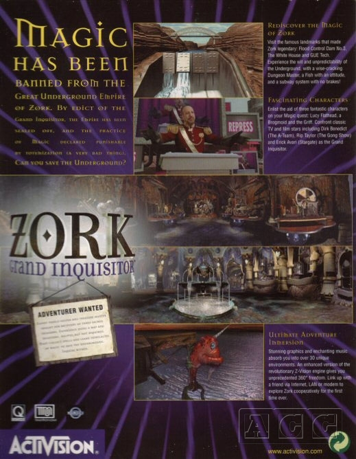Zork Grand Inquisitor - Gallery - Adventure Classic Gaming