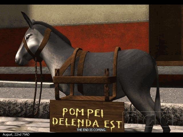 Pompei: The Legend of Vesuvius