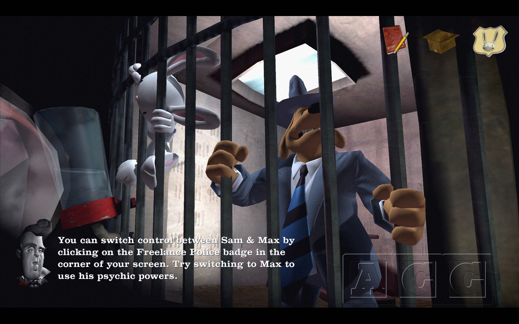 Sam & Max The Devil's Playhouse Episode 301: The Penal Zone