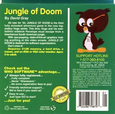 Hugo III: Jungle of Doom!